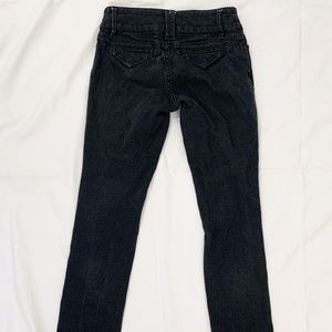 Banana Republic Classic Skinny Black Denim Jeans